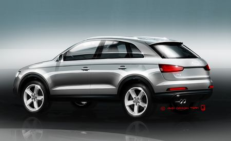 2012 Audi Q3 Sketches Released