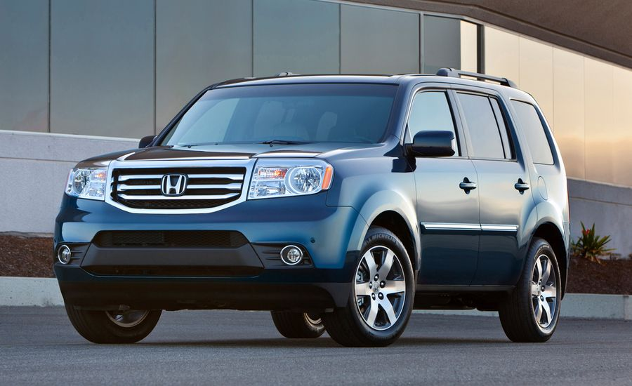 2012 honda pilot official photos and info car news car and driver. Black Bedroom Furniture Sets. Home Design Ideas