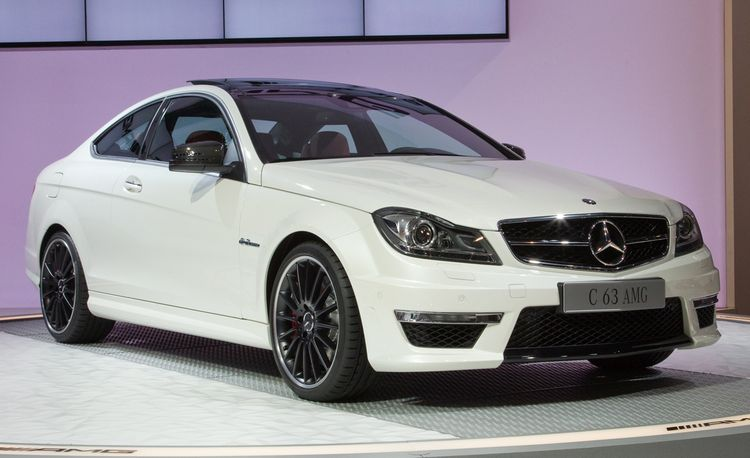 2012 Mercedes-Benz C63 AMG Coupe Debuts @ 2011 New York Auto Show