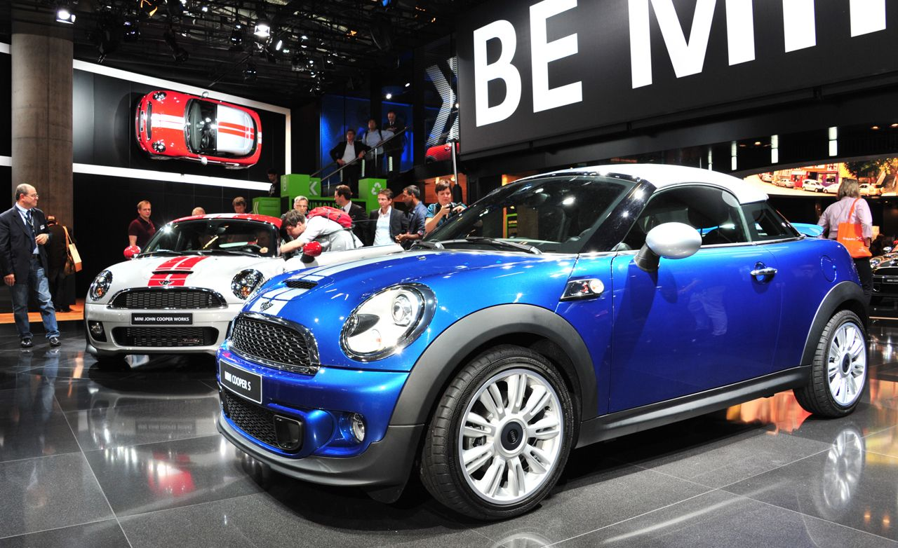 2012 mini cooper coupe official photos and info news car and driver. Black Bedroom Furniture Sets. Home Design Ideas