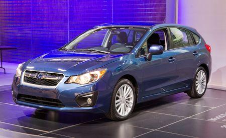 2012 Subaru Impreza Debuts @ 2011 New York Auto Show