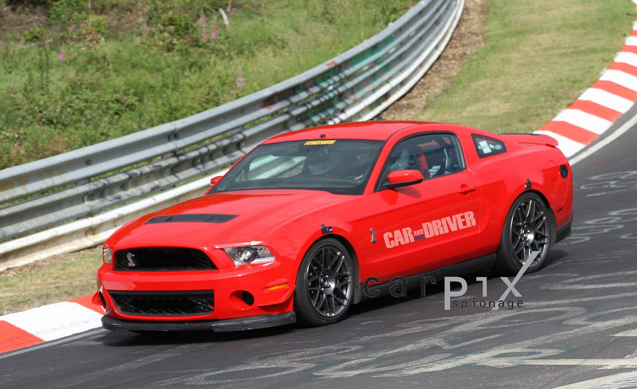 2013 Ford Mustang Shelby GT500 Spy Photos