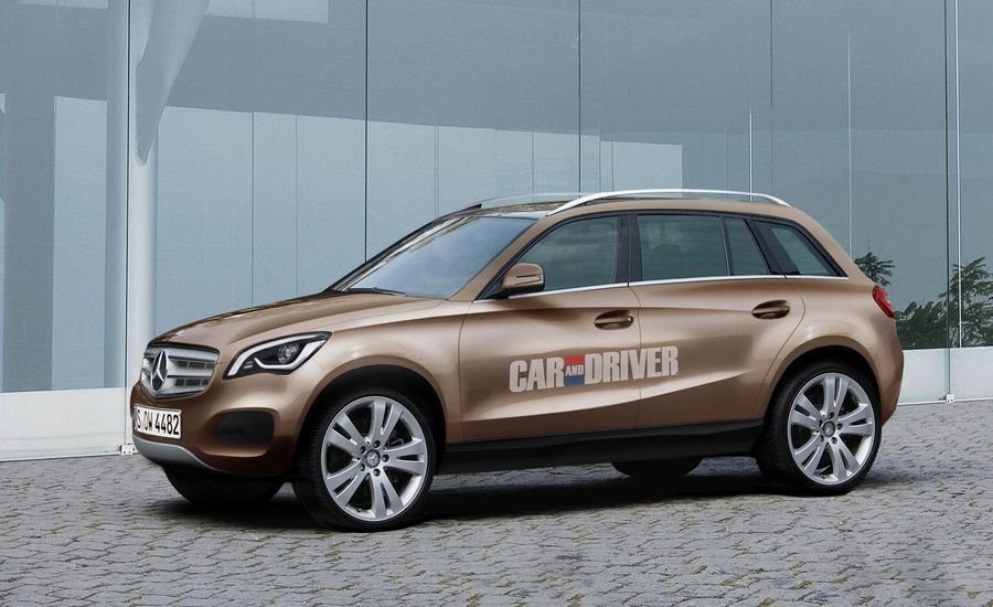 2014 Mercedes-Benz GLC / Small Crossover Rendered