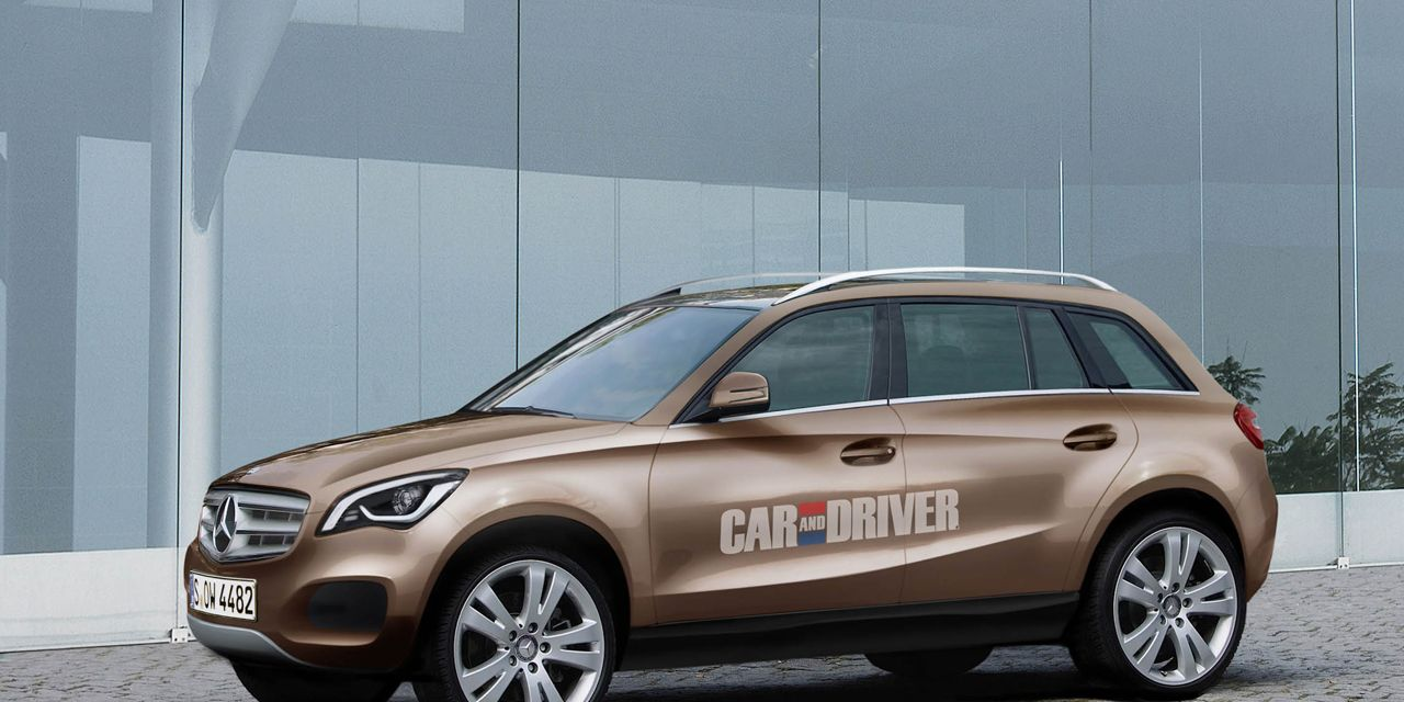 2014 Mercedes Benz Glc Small Crossover Rendered