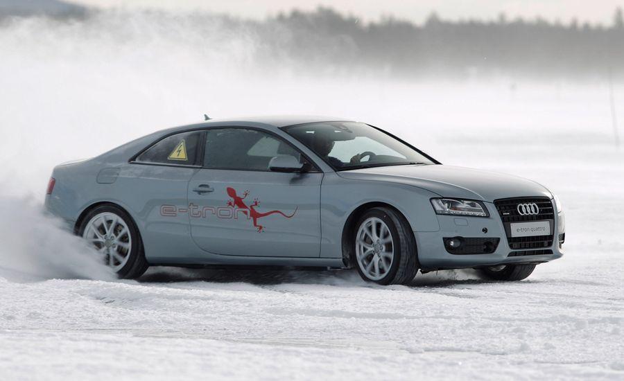 Audi A5 E-Tron Quattro Concept