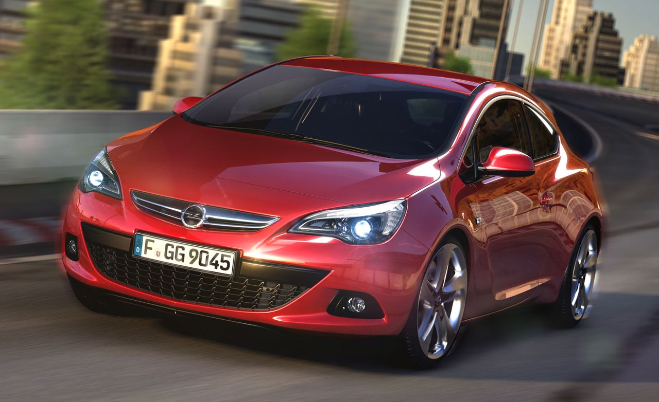 Buick Getting a Version of the Opel Astra GTC, May Get Astra-Based Convertible