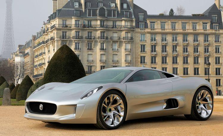 Jaguar C-X75 Hybrid Supercar Headed for Production