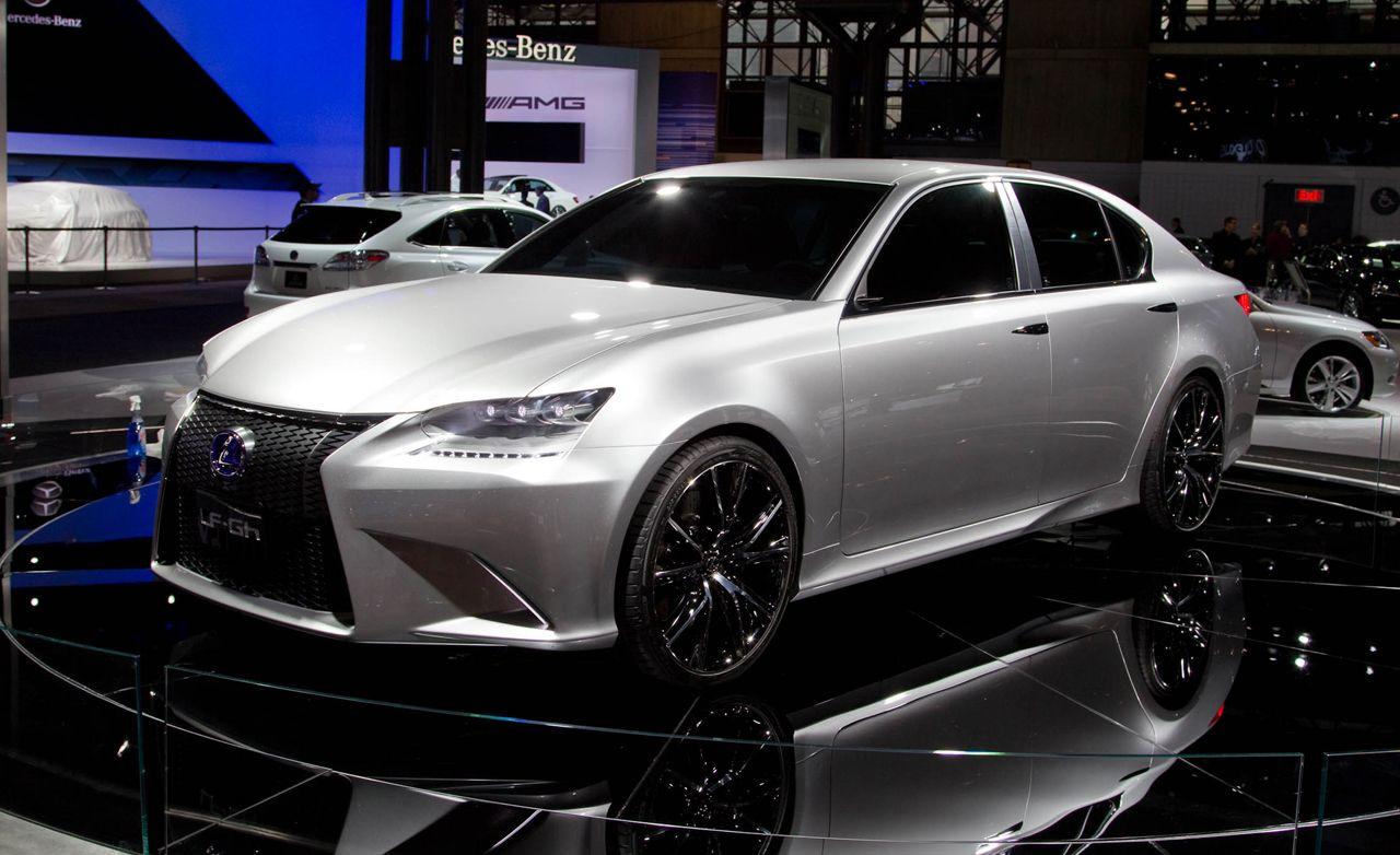 lexus lf gh hybrid concept news car  driver
