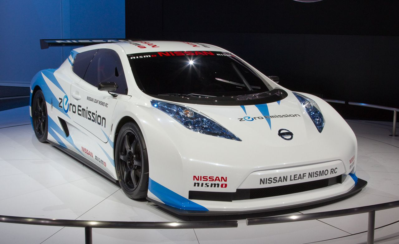 Nissan leaf reviews nissan leaf price photos and specs car nissan leaf nismo rc concept vanachro Gallery