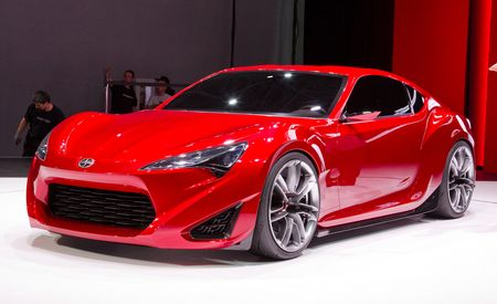 Scion FR-S Concept Official Photos and Info
