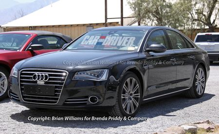 2012 Audi S8 Spy Photos
