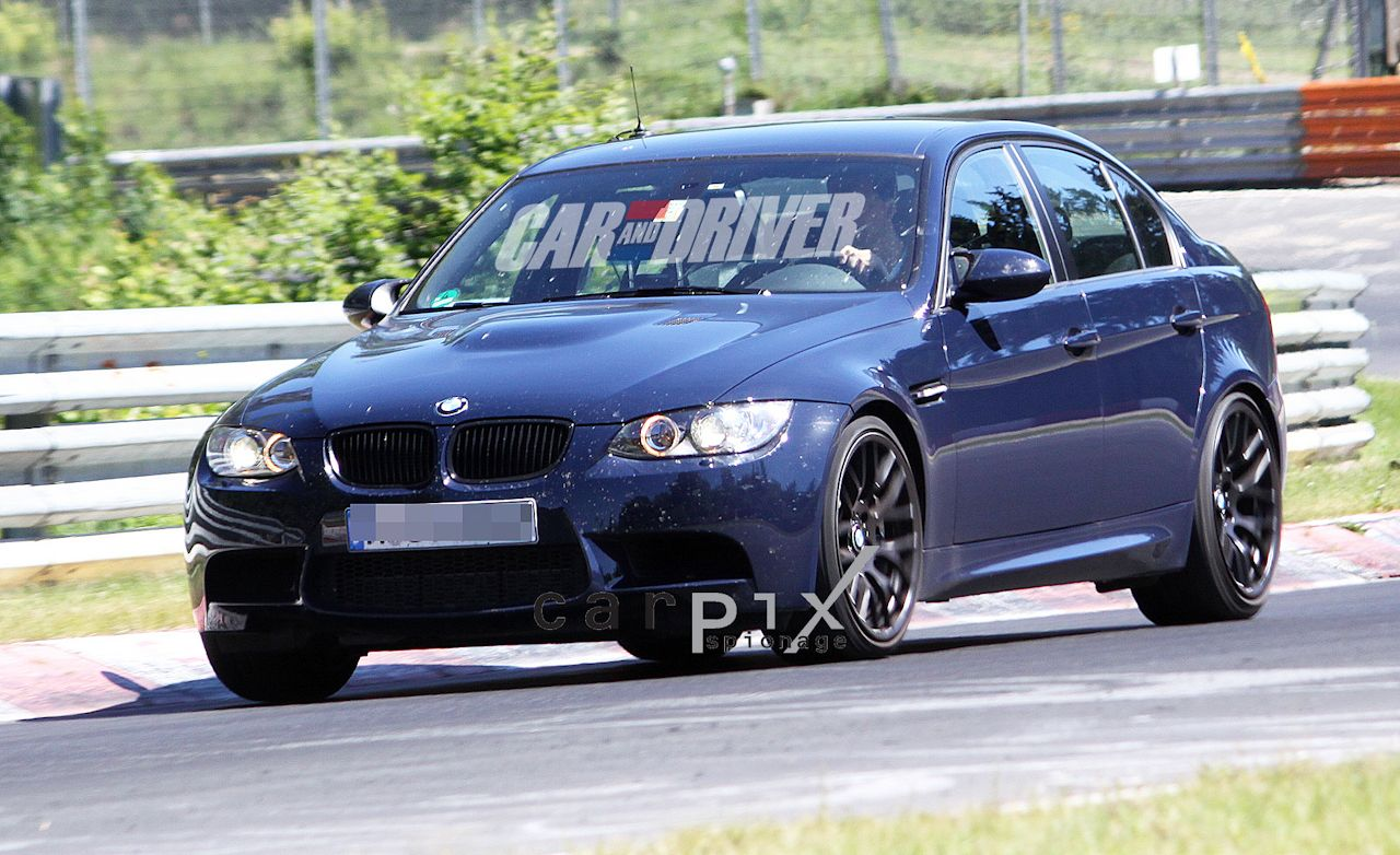 2012 BMW M3 Evo / GTS Sedan Spy Photos