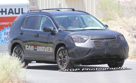 2012 Honda CR-V Spy Photos