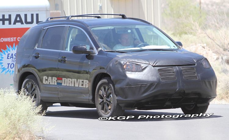 2012 Honda CR-V Spy Photos