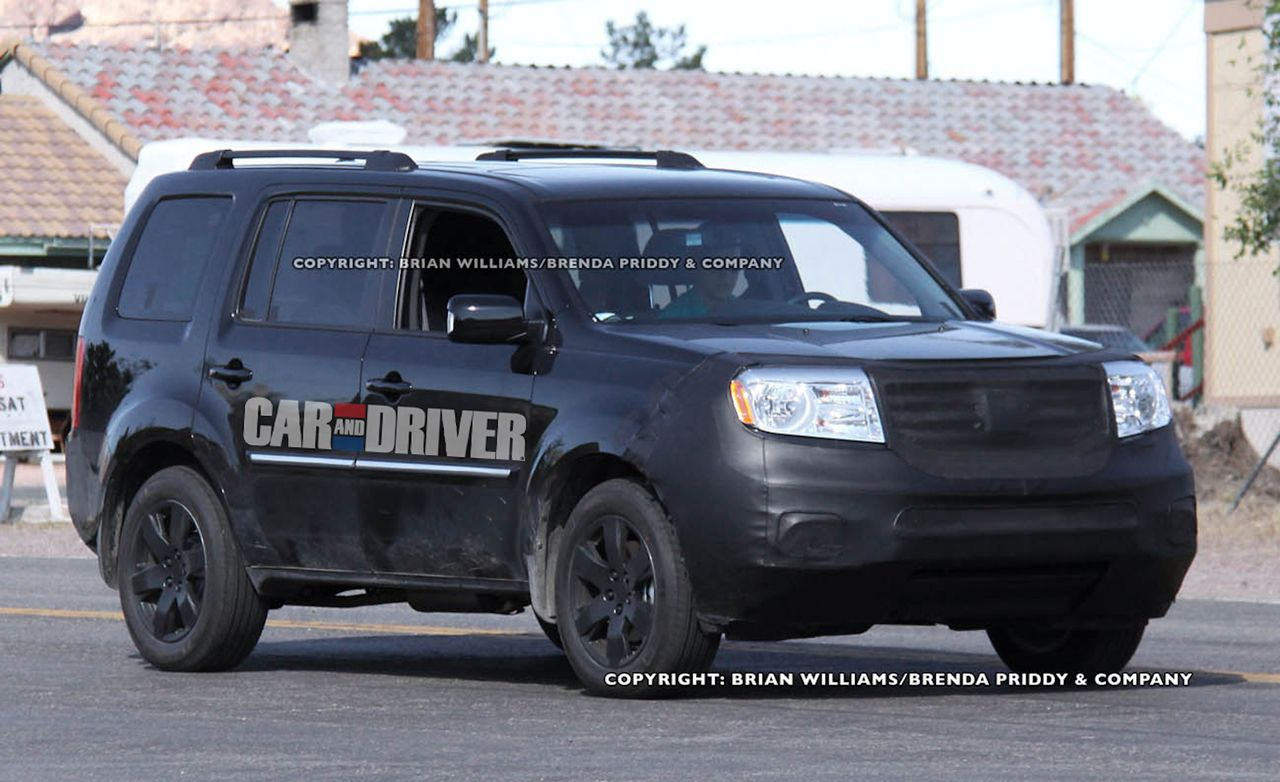 2012 Honda Pilot Spy Photos