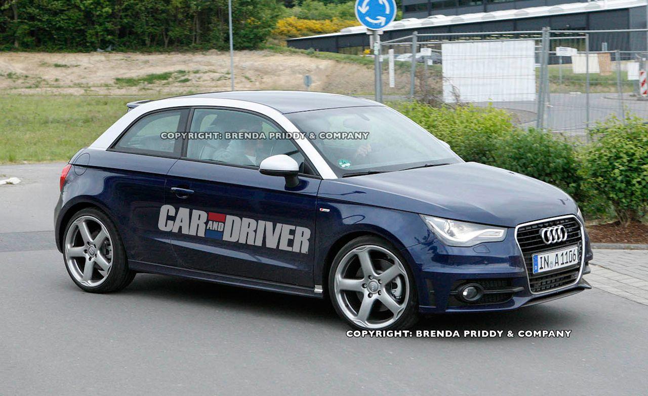 2013 Audi S1 Spy Photos