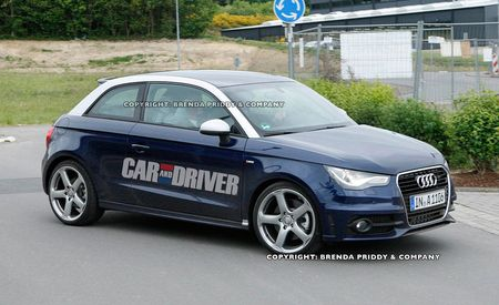2013 Audi S1 Spy Photos