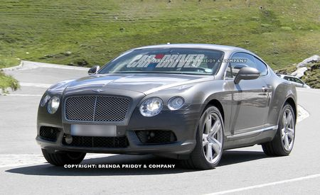 2013 Bentley Continental GT Speed Spy Photos