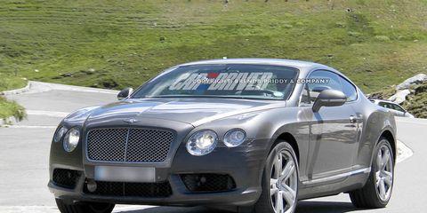2013 Bentley Continental Gt Speed Spy Photos 8211 News 8211