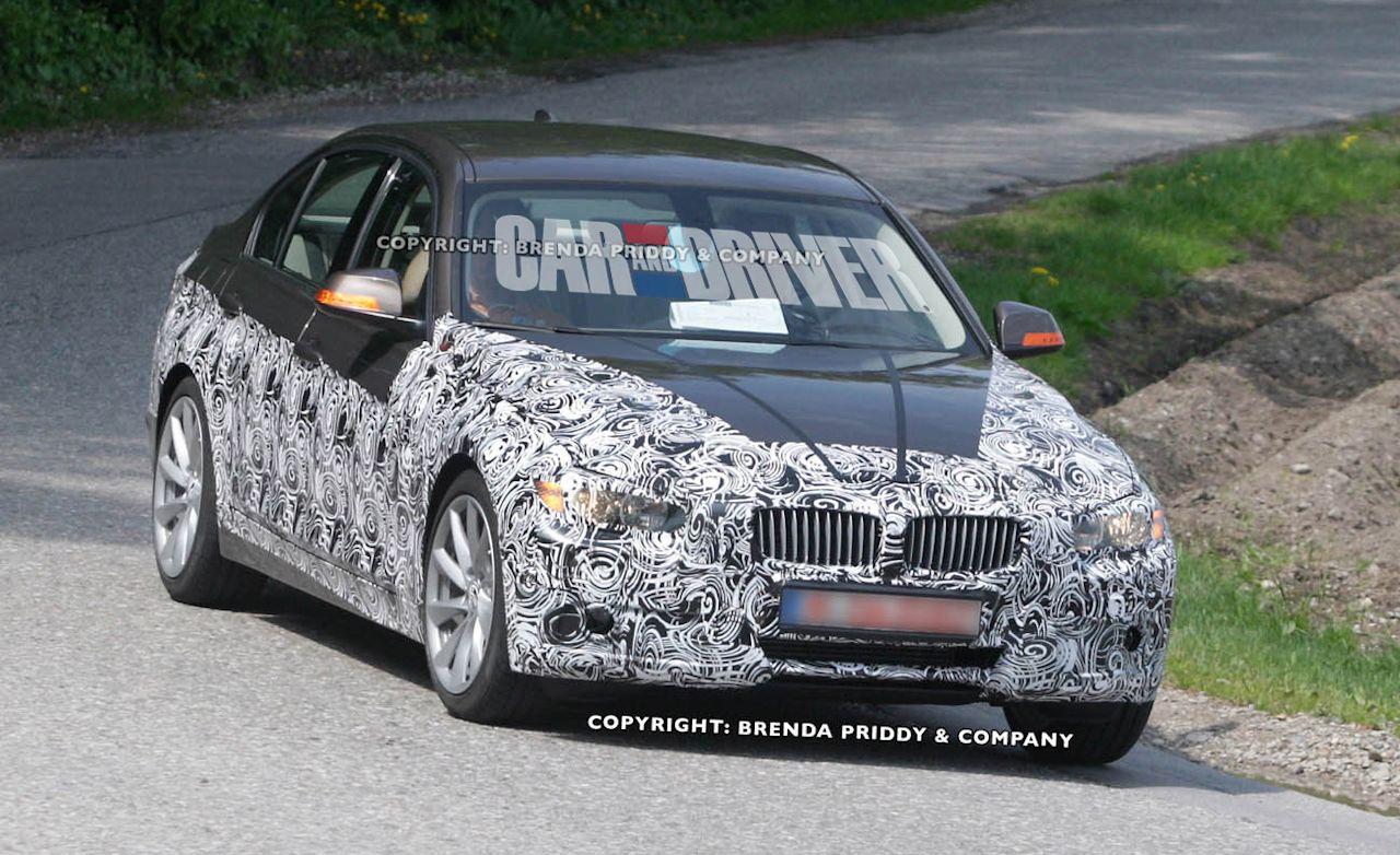 2013 BMW 3-series Spy Photos
