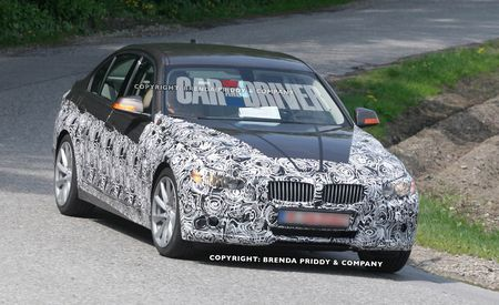 2013 BMW 3-series Spy Photos