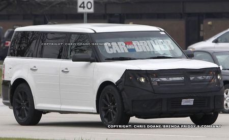 2013 Ford Flex Spy Photos