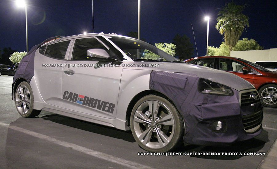 2013 Hyundai Veloster Turbo Spy Photos