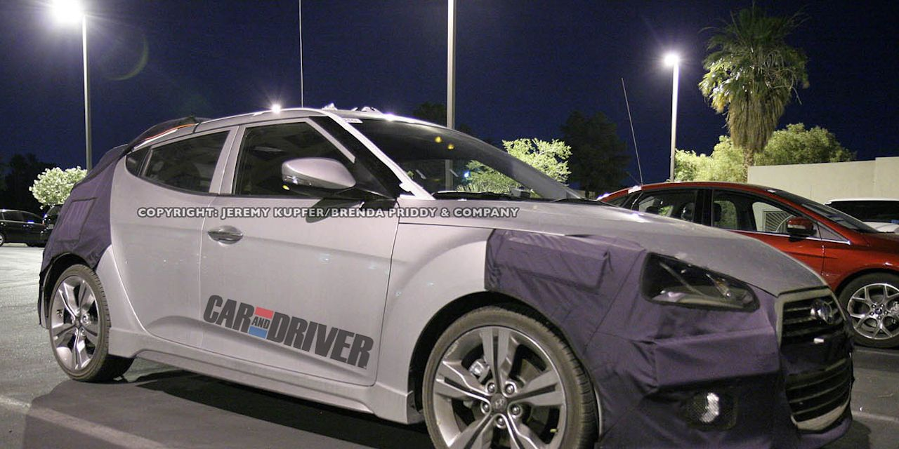 2013 Hyundai Veloster Turbo Spy Photos Ndash Future Cars Ndash