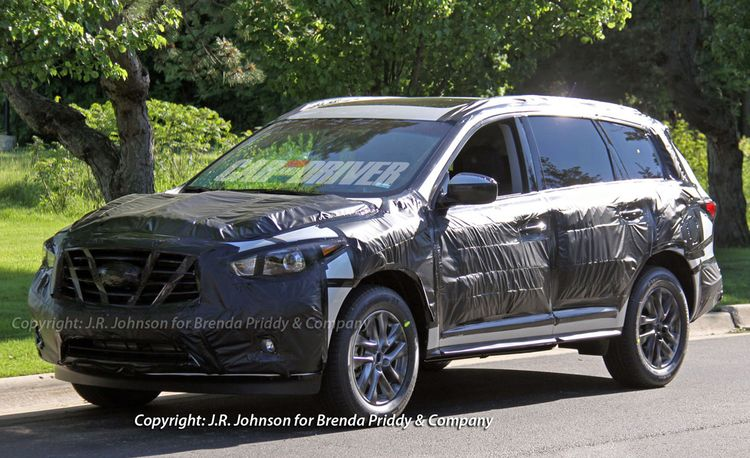 2013 Infiniti JX Crossover Spy Photos