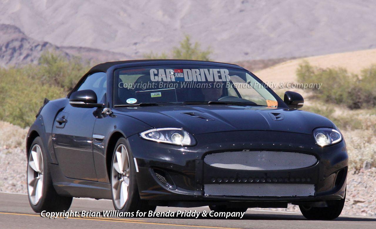 2013 Jaguar XE Roadster Spy Photos