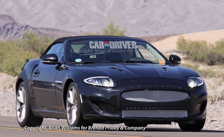 2013 Jaguar XE Roadster Spy Photos