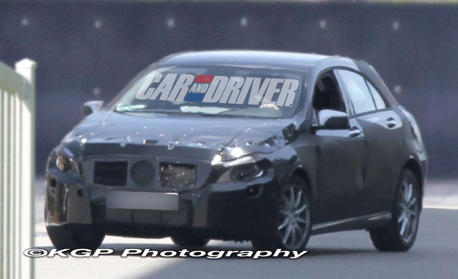 2013 Mercedes-Benz A-class Hatchback / CLC Sedan Spy Photos