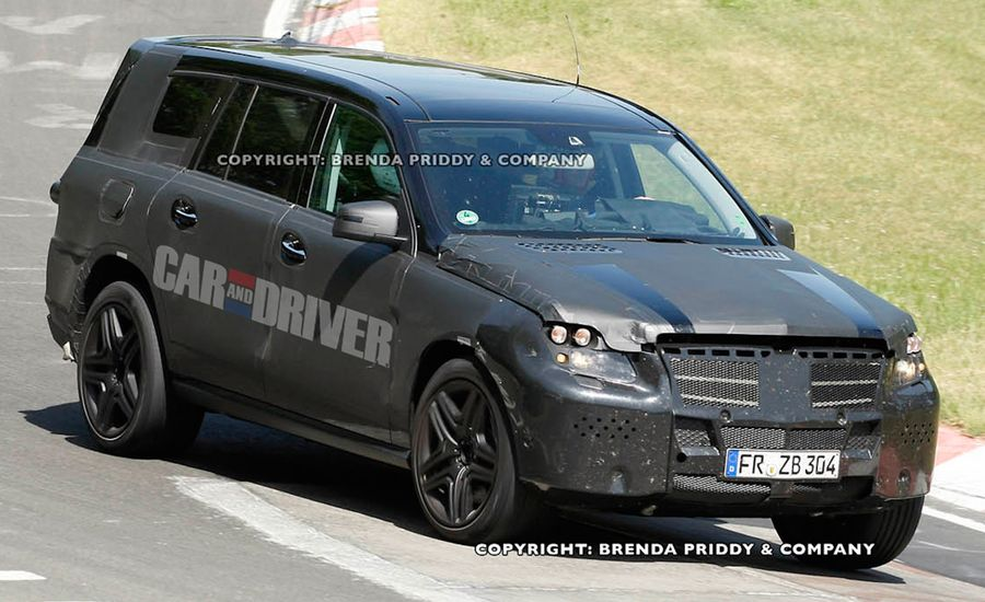 2013 Mercedes-Benz GL-class / GL450 / GL550 Spy Photos