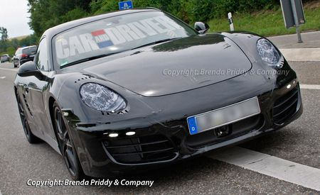 2013 Porsche Cayman Spy Photos