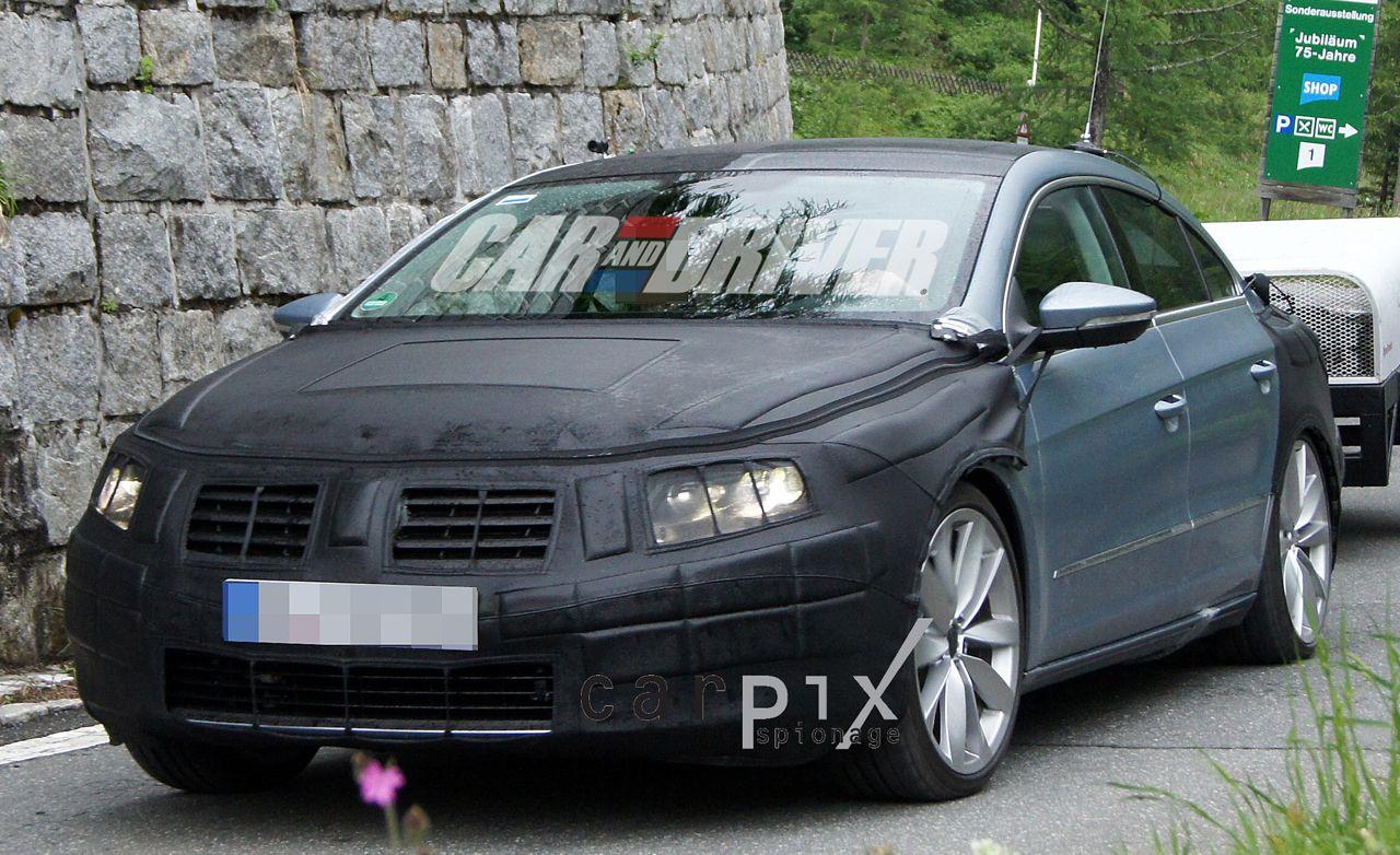 2013 Volkswagen CC Spy Photos