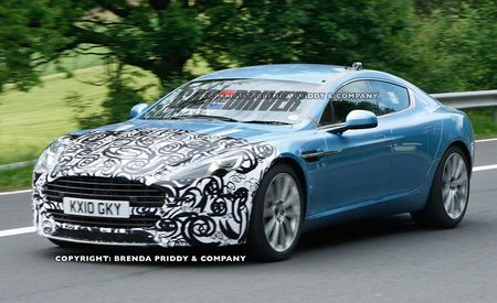 2013 Aston Martin Rapide S Spy Photos