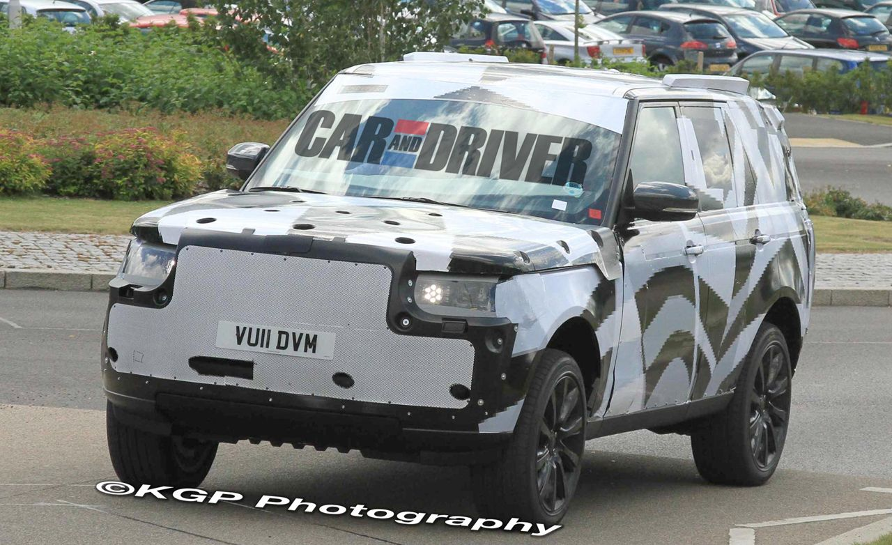 2013 Land Rover Range Rover Spy Photos