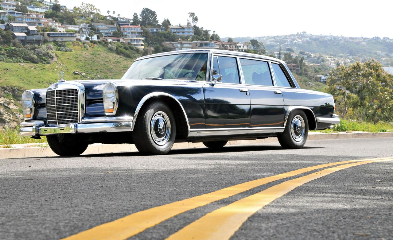 """Ancient Grease: Keeping the Mercedes-Benz """"Grosser"""" 600 Parade-Ready"""