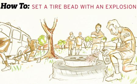 How To: Set a Tire Bead with an Explosion