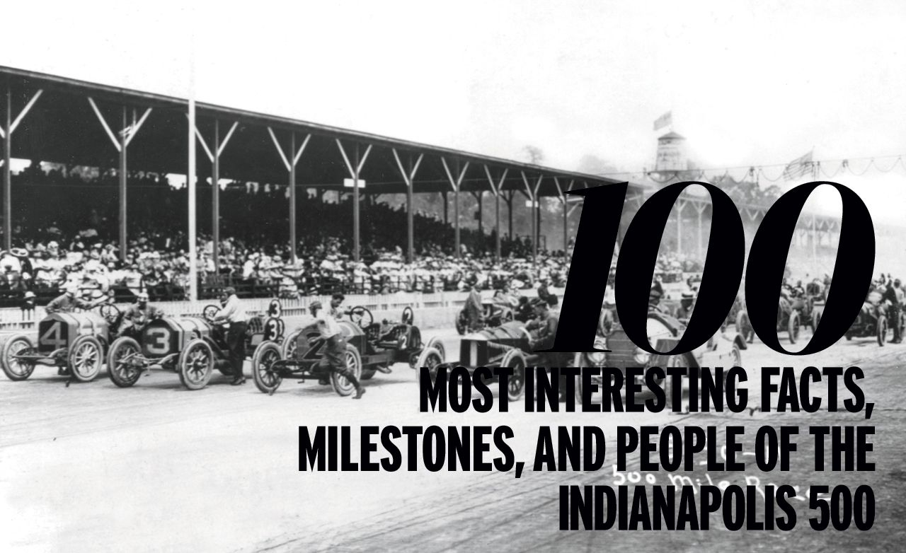 Celebrating the Indy 500's 100th Anniversary: 100 Most Interesting Facts and Milestones