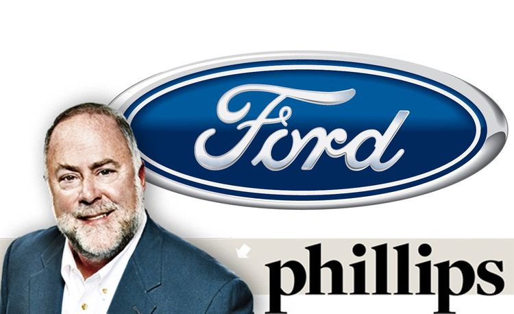John Phillips: Ford's Executive Director of Design Ignores My Right Foot