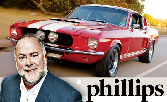 John Phillips: Jake (a Goat) and Dick (a Mule) Were Both Fond of Shelby Mustangs