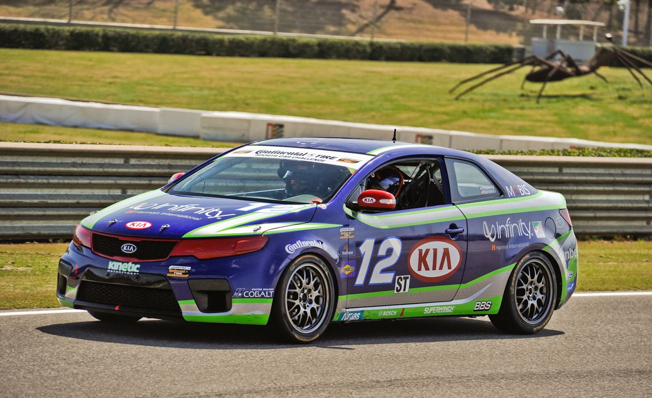 Kia Forte Koup Race Car First Drive Review And Driver To Boss Wiring
