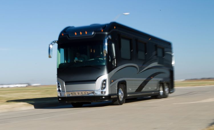 Driving the $1.56M Newell P2000i RV