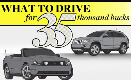 What to Drive for $35,000: Coupe, Truck, SUV, Fuel Sipper, and Sports Sedan