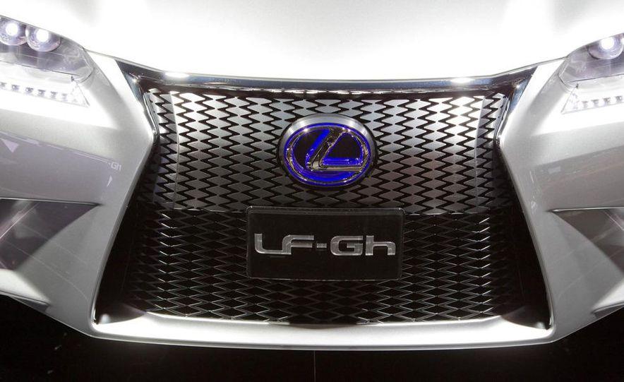 Lexus LF-Gh hybrid concept - Slide 14