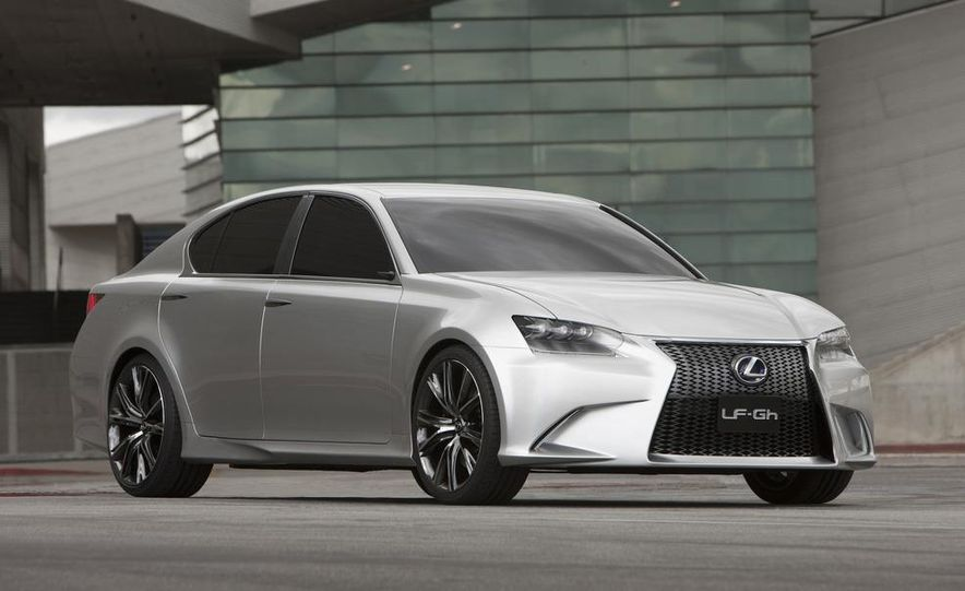 Lexus LF-Gh hybrid concept - Slide 20