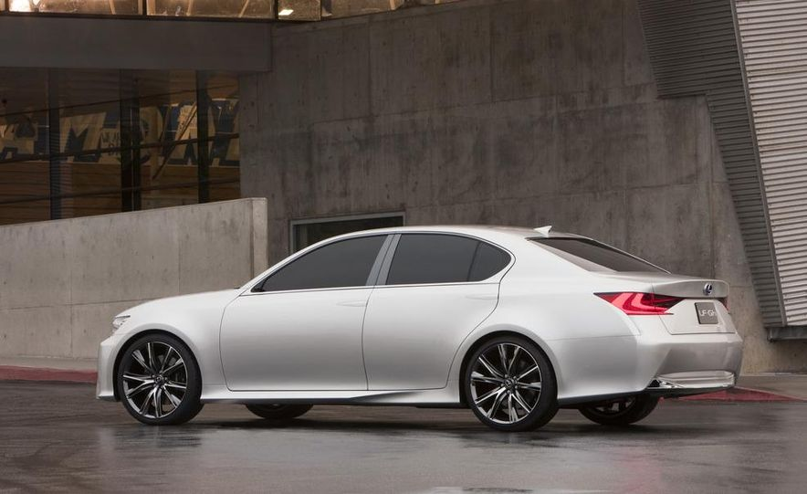 Lexus LF-Gh hybrid concept - Slide 23