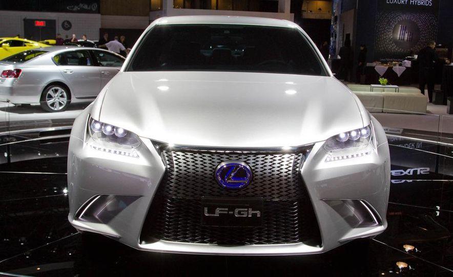Lexus LF-Gh hybrid concept - Slide 1