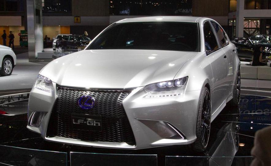 Lexus LF-Gh hybrid concept - Slide 2